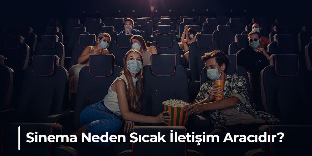 sinema neden sıcak iletişim aracıdır görseli