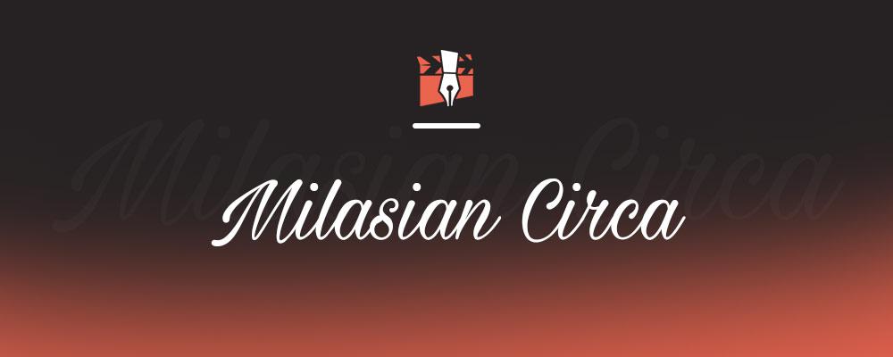 Milasian Circa Yazı Fontu