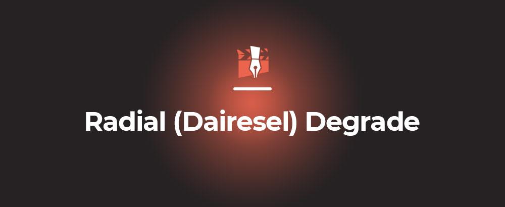 Radial (Dairesel) Degrade